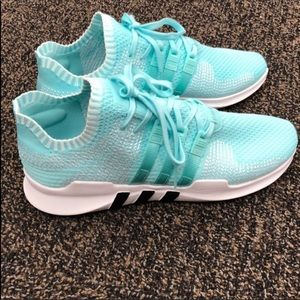 adidas Shoes - Adidas EQT Teal Primeknit Sneakers